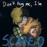Don't hug me I'm scared by Desteny-Love