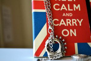Keep Calm and Carry On by MaNeBi