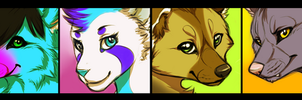 Batch of icons by Yechii