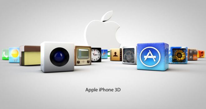 Apple iPhone 3D Advert by hassanmedia