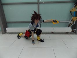 Kingdom Hearts - Sora Cosplay by DeadPhantoms
