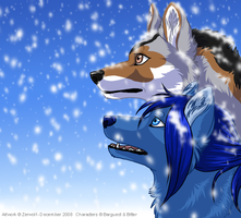 Look, it's snowing by Zerwolf