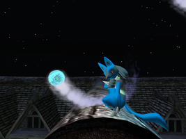 +Lucario At Night+ by ScourgeXNazo2