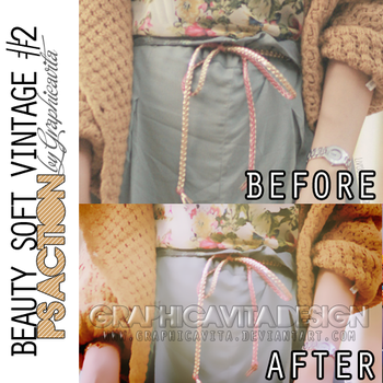 Beauty Soft Vintage 2 by graphicavita