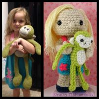 Custom Crochet - For Vanessa by CraftyTibbles