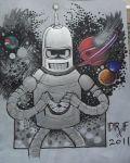 Bender Bends Time and Space by DoctorFantastic