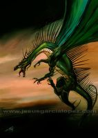 Dragon negro by Raro666