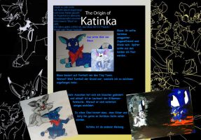 The Origin of Katinka -Blace by JB-Pawstep
