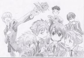 Ouran High School Host Club by Mitsusuki