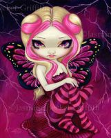 Pink Lightning by jasminetoad