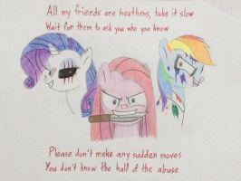 MLP x Suicide Squad by DON2602