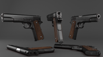 Colt 1911 by Canapy-3D