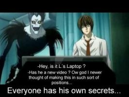 Death note: Everyone has his own secrets... by Artof-Nothing