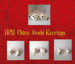 China Mochi Earrings with Panda by xXShadow-BlizzardXx