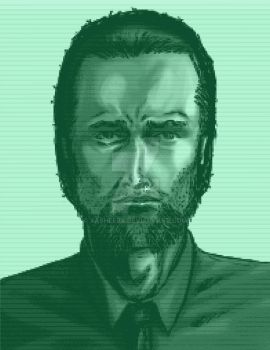 Metal  Gear Solid CODEC self portrait by xASHLERx