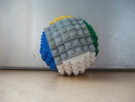 LEGO COLOUR BALL by redhatpieman