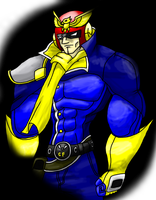 Captain Falcon Slight Redesign by NeoJimHeadshot