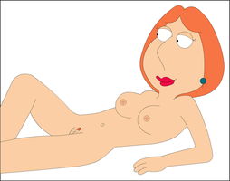 Lois Laying Down by xvqwertyvx