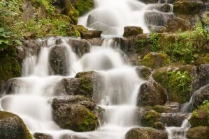 waterfall 1 by Drezdany-stocks
