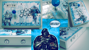 IKnowWhoDoomIs New Fightstick Design by Taking-Back-Shadow
