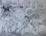 Record of Lodoss War - ambush in the forrest [1/2] by KeIIion