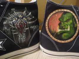 Warcraft Horde Shoes by Paradox-Artistry