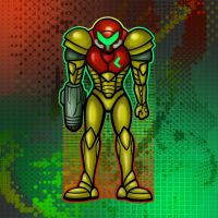 Samus Aran Super Metroid by likelikes