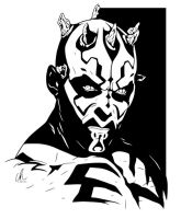 Darth Maul - Sith Lord by LRitchieART