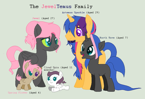 The JewelTemus Family - Official Next(Next) Gen's by Tai-Chaan