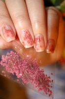 Nail Art - Dried Flower II by bluenotes