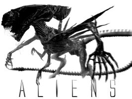 The BITCH is back- Alien Queen by RoguePL