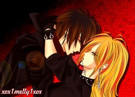Cain and Setsuka Heel by xox1melly1xox