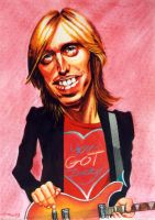Tom Petty by JSaurer