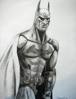 Arkham City Batman Drawing by cusT0M