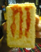 A Monster Symbol On My Snack by KambalPinoy