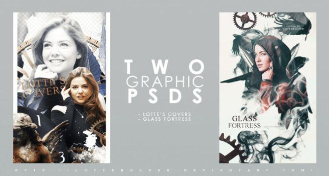 Two Cover PSDs by LotteHolder