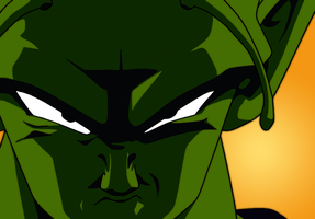 Piccolo - Close Up by DarkAngelShine