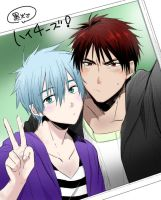Kuro and Kagami photo by katox3