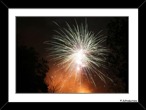 Fireworks in a chruchyard 8 by JimmyLemon