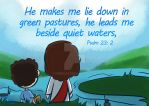Psalm 23:2 by Israel42