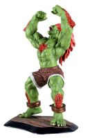 Street Fighter Blanka statue by Trapjaw
