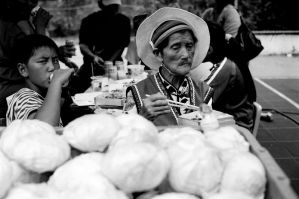 Cabbage-sellers by bQw