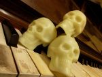 Skulls on Piano by Dandy-Highwayman2