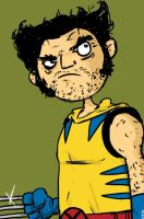 wolvie by striffle