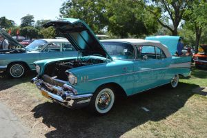 1957 Chevrolet Bel-Air Convertible by Brooklyn47
