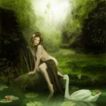 Leda and the Swan by Pygar