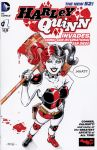 Harley Quinn Sketch Cover by 93Cobra