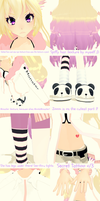 MMD The Awesomeness of Mook by nyanami
