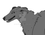 FREE - Borzoi Lineart - DOWNLOAD IN DESC by DREAMTHlEF