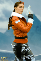 Cosplay Lara Croft - Tomb Raider III - Antarctica by MissCroftCosplay